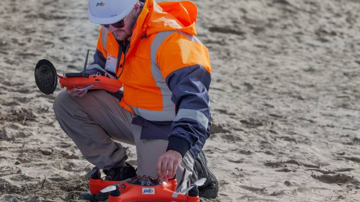 Drones will now be used to test water quality at various Auckland beaches.