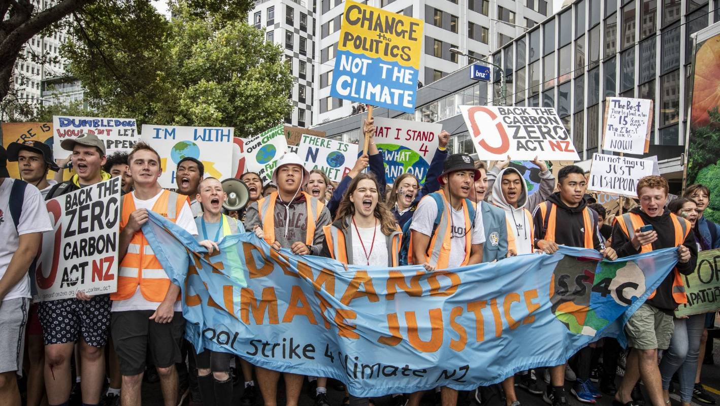 Nation's youth encouraged to 'Elbow Your Elders' over climate change