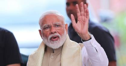 Indian Prime Minister Narendra Modi has declared victory in the election.