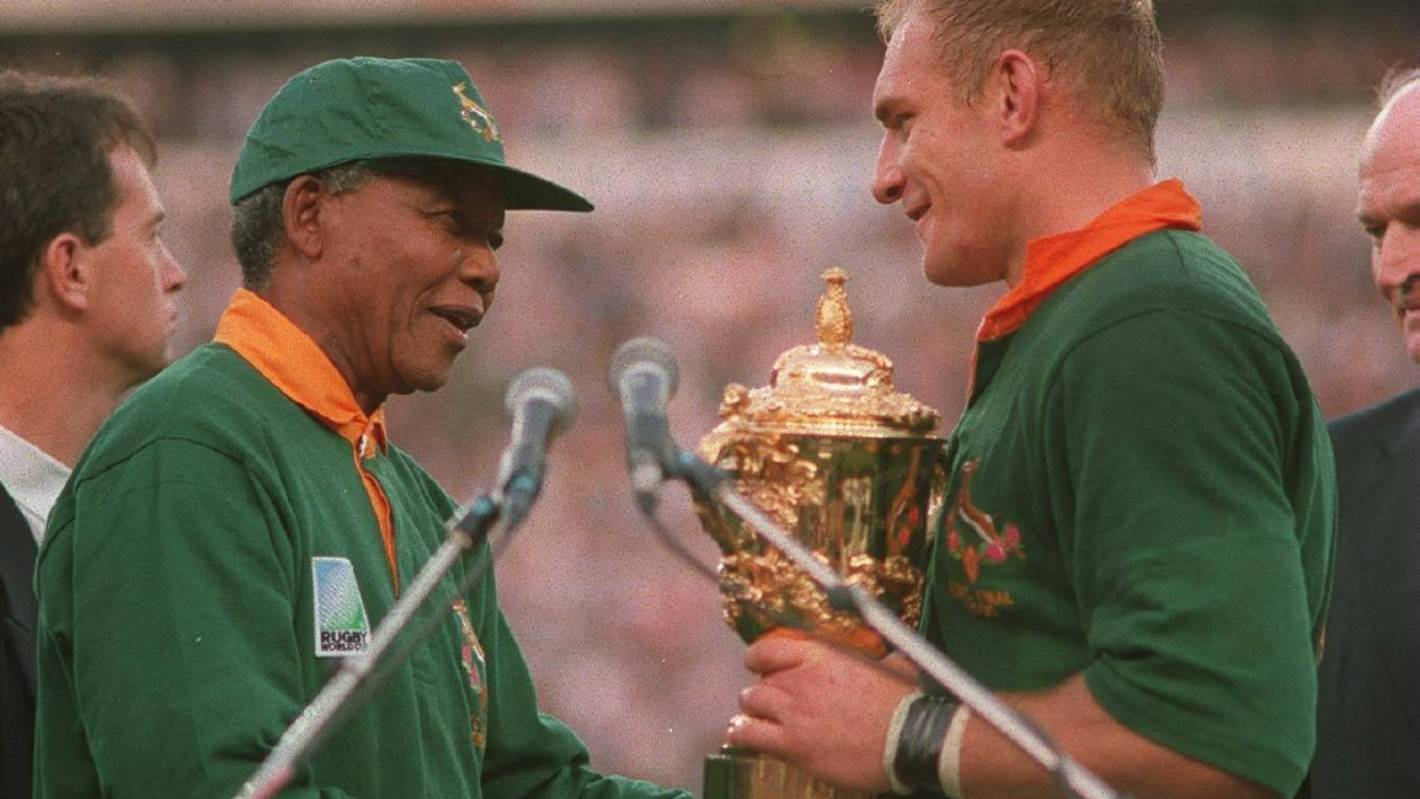 Rugby World Cup: Boks captain Siya Kolisi lifting cup would be bigger than Nelson Mandela's 1995 moment