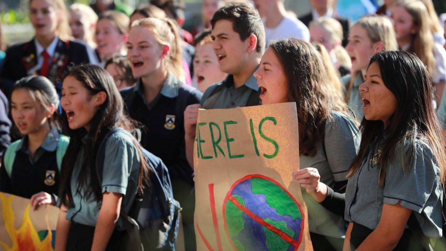 Hear our voice: Waikato and Coromandel students demand climate change action