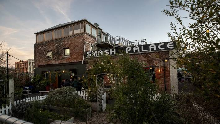 Smash Palace in High St began in a bus on a vacant lot.