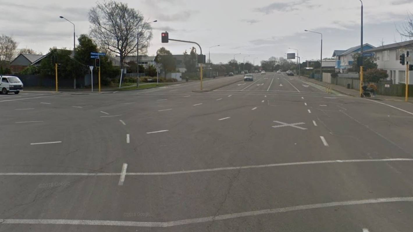 Pedestrian seriously injured after being hit by a car on busy Christchurch intersection