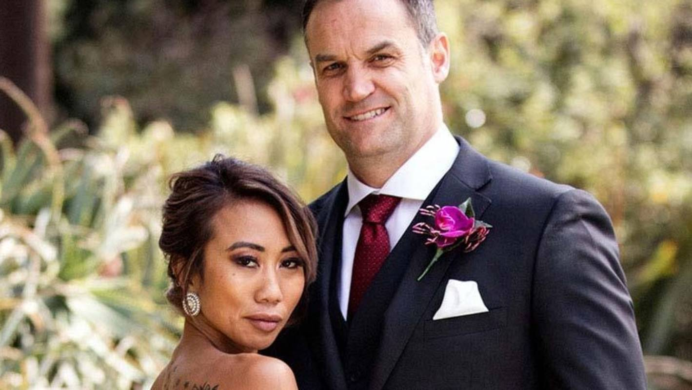 Married At First Sight's Ning is selling a second wedding dress - her gown from the show