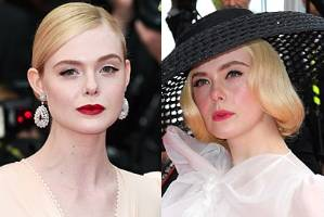 When it came to old-school glamour at Cannes, nobody did it better than Elle Fanning.