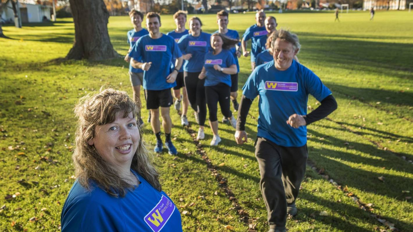 Group of nearly 60 running Christchurch Marathon for