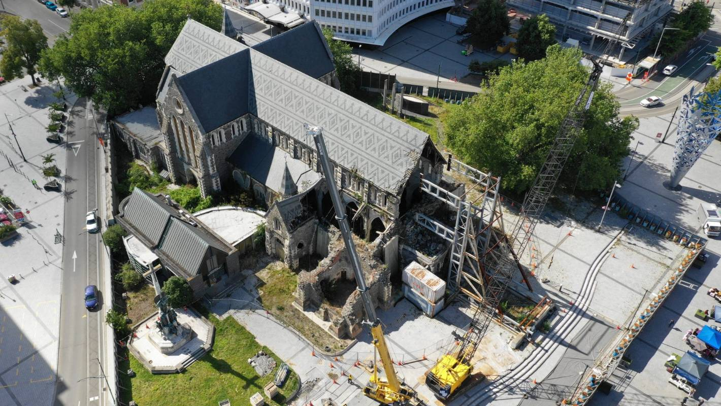 Delayed improvements to Christchurch's Cathedral Square to begin