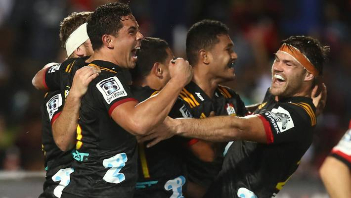 Super Rugby: Chiefs keep playoff hopes alive after stunning