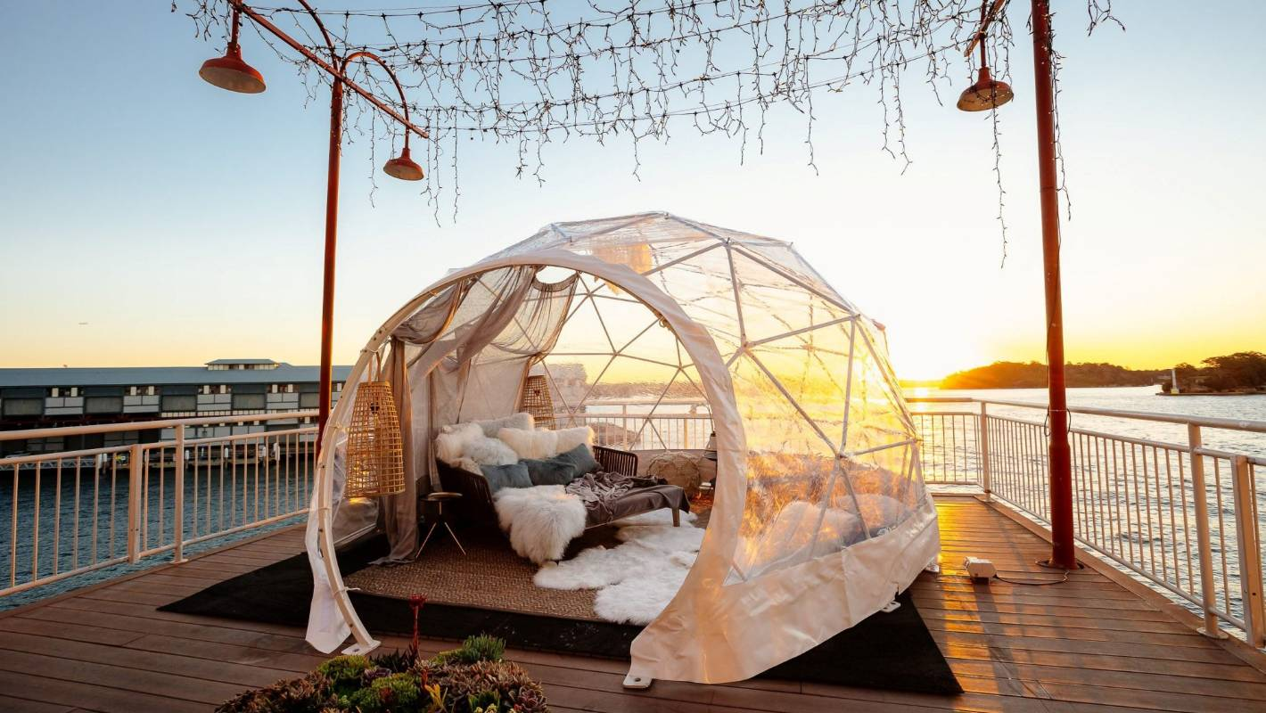 Hotel opens $1370-a-night 'igloo' on Sydney Harbour, Australia
