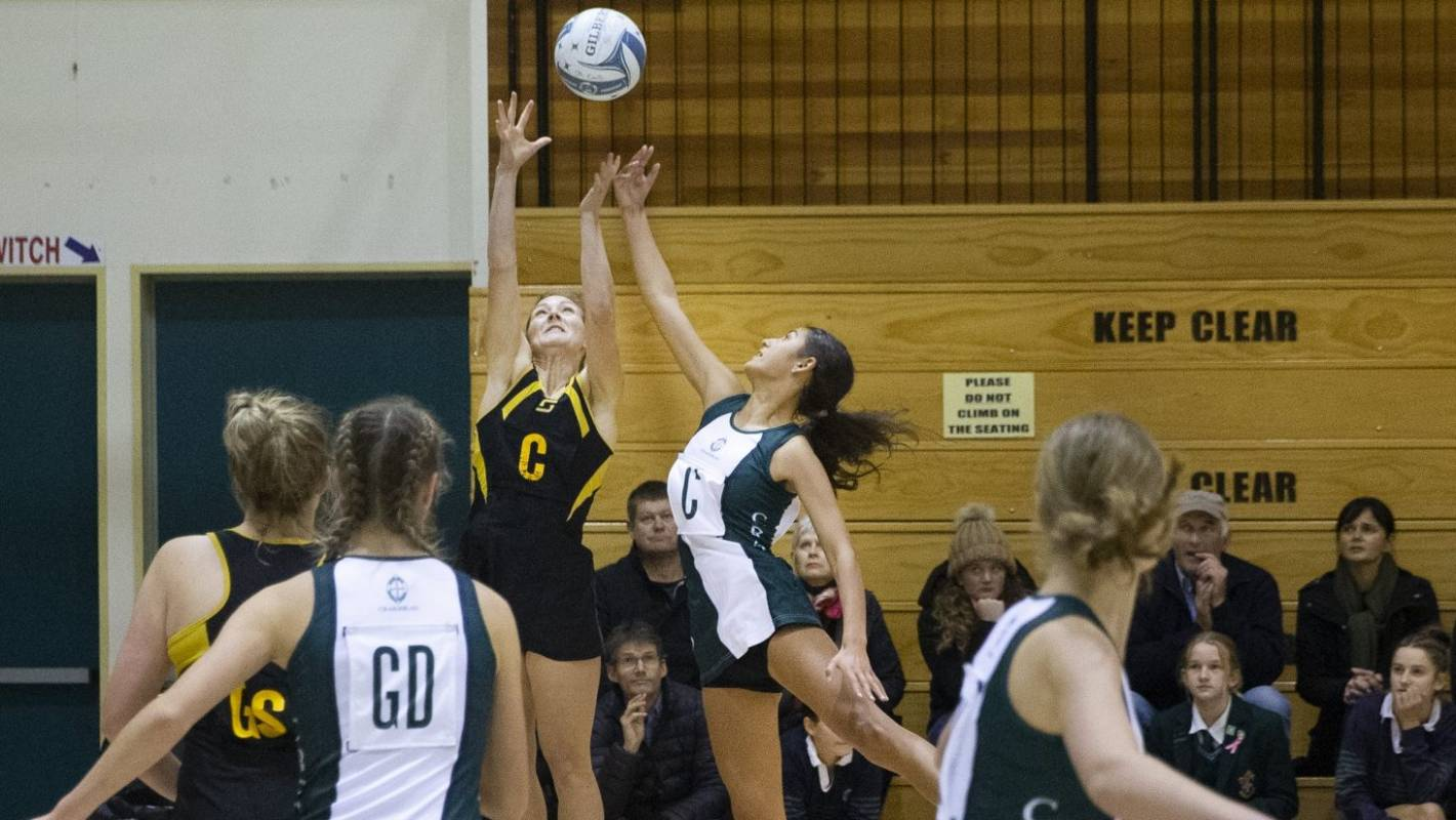 Craighead take netball lead after downing defending champions