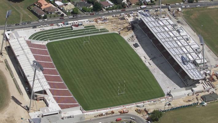 FMG Stadium, Hamilton.