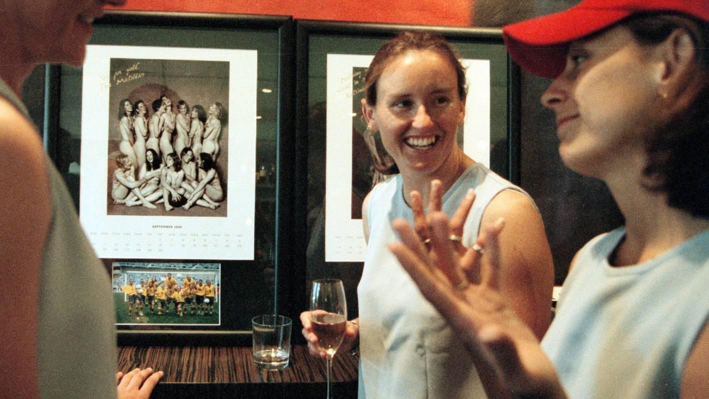Alicia Ferguson of the Matildas - Australias wom