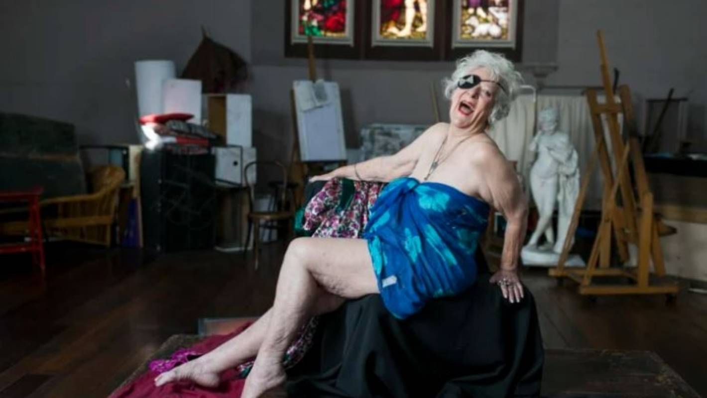 Posing naked at 82: She went from 'absolutely terrified' on her first day to loving it