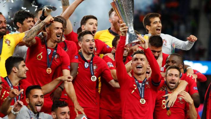 portugal edge the netherlands to win inaugural uefa nations league title stuff co nz inaugural uefa nations league