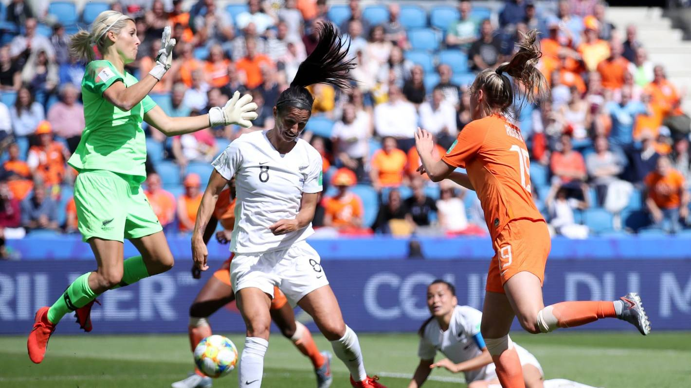 FIFA Women's World Cup 2019: Football Ferns concede late in loss to Netherlands
