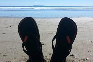 "Kiwis are spoilt for choice with beaches, despite the ""subantarctic temperatures"", Fodor's says."