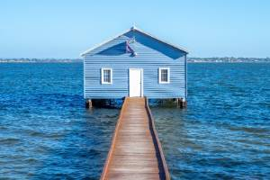 The Crawley Edge Boat Shed has become an unlikely social media star.