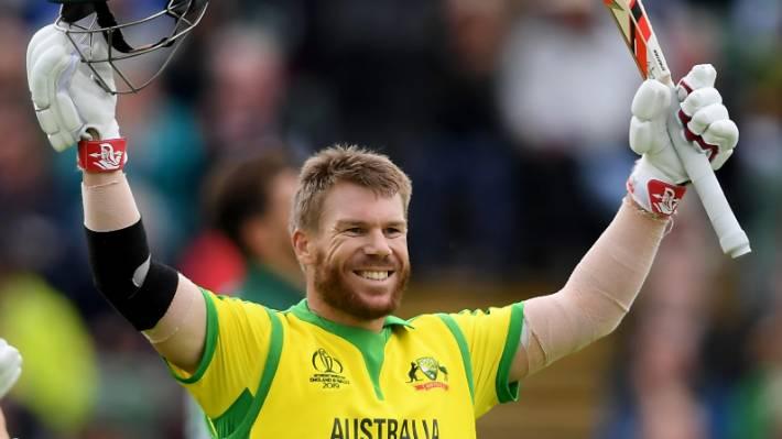 Cricket World Cup 2019 David Warner Ton Leads Australia To