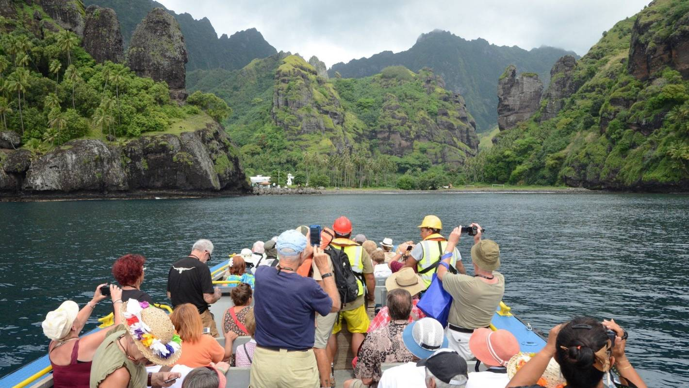 Grand, brooding Marquesas islands true South Pacific adventure