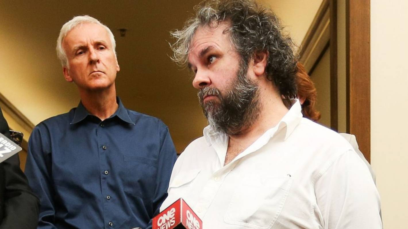 Sir Peter Jackson and James Cameron team up to promote meatless future