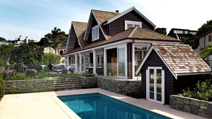 Cape Cod Style Home Wows Auckland