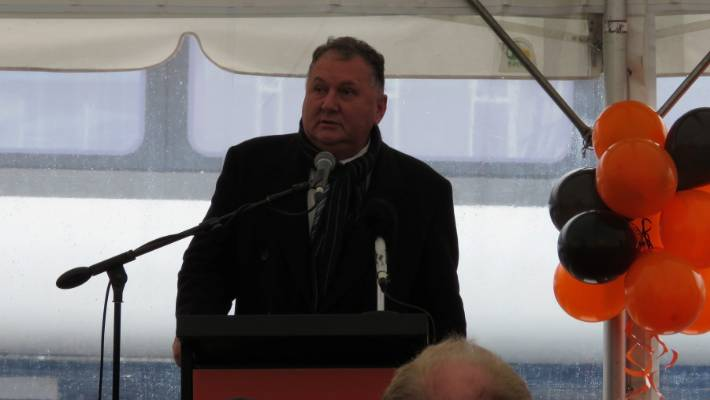 Regional Economic Development Minister Shane Jones said it was a significant day.