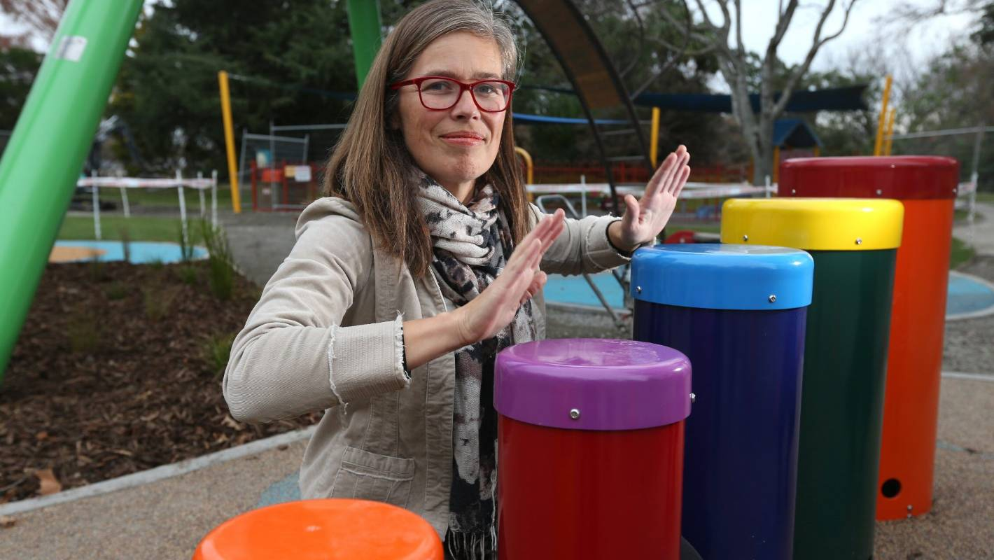 Sweet sounds for new Blenheim playground