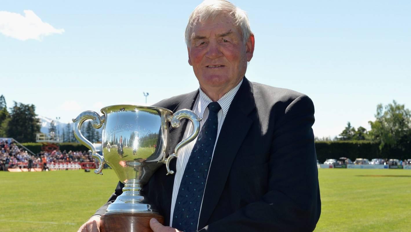 All Blacks great Sir Brian Lochore in cancer battle