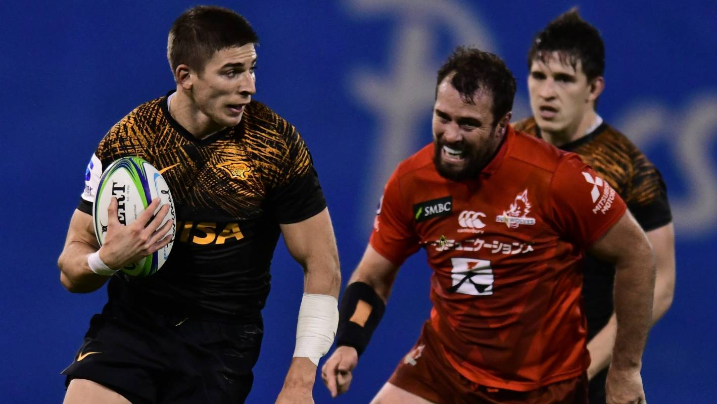 Super Rugby: Jaguares seal second spot with thrashing of Sunwolves