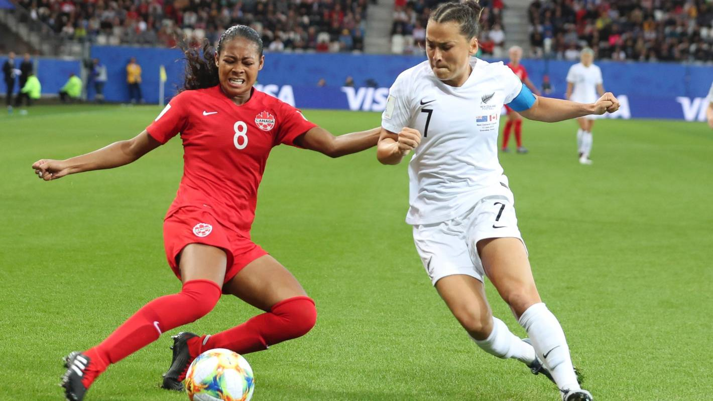 FIFA Women's World Cup 2019: Football Ferns outclassed in loss to Canada