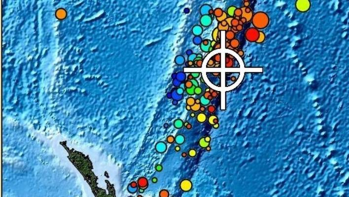 A magnitude 7 earthquake has struck the Kermadec Islands, northeast of New Zealand.