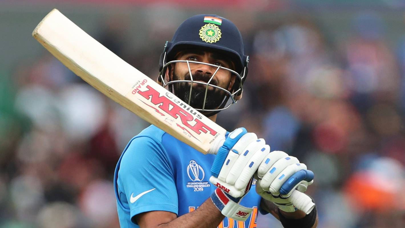 Cricket World Cup 2019: Virat Kohli walked off despite replays showing he was not out