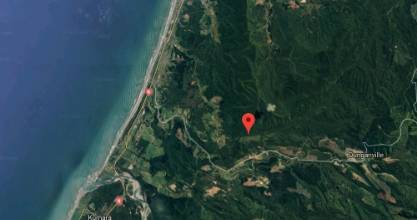 A man and dog are stuck down a cave in Marsden, near Greymouth.