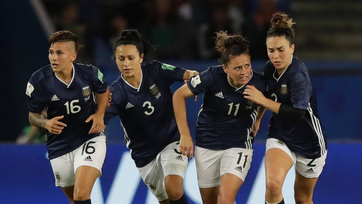 FIFA Women's World Cup 2019: Argentina comeback boosts Football Ferns' chances