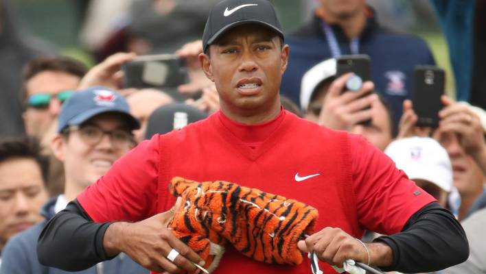 Tiger Woods won his first four majors more swiftly than Brooks Koepka.