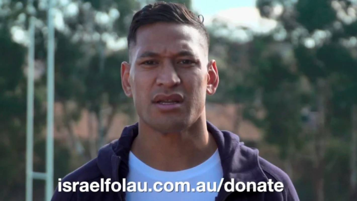 Israel Folau, enough is enough . . . why don't you just go fund yourself?