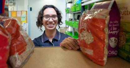 Hamilton Salvation Army Food bank co-ordinator Aimee Smith said the charity is desperate for a number of basic ...