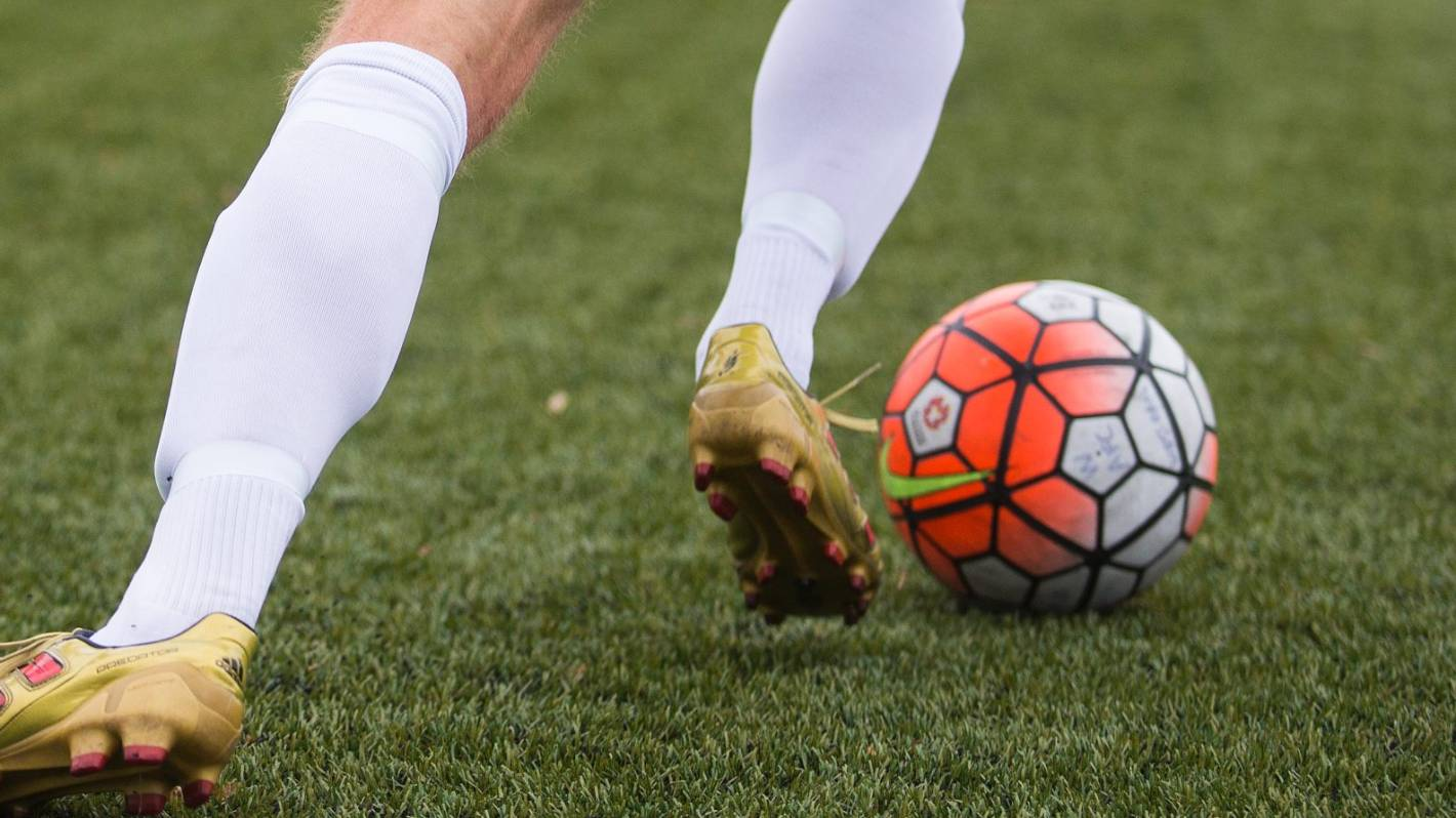 Manukau City Football Club player banned for a season for spitting at referee