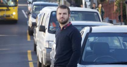 Resident James Lynex is disappointed Wellington City Council has chosen to increase resident parking permit prices by 50 ...