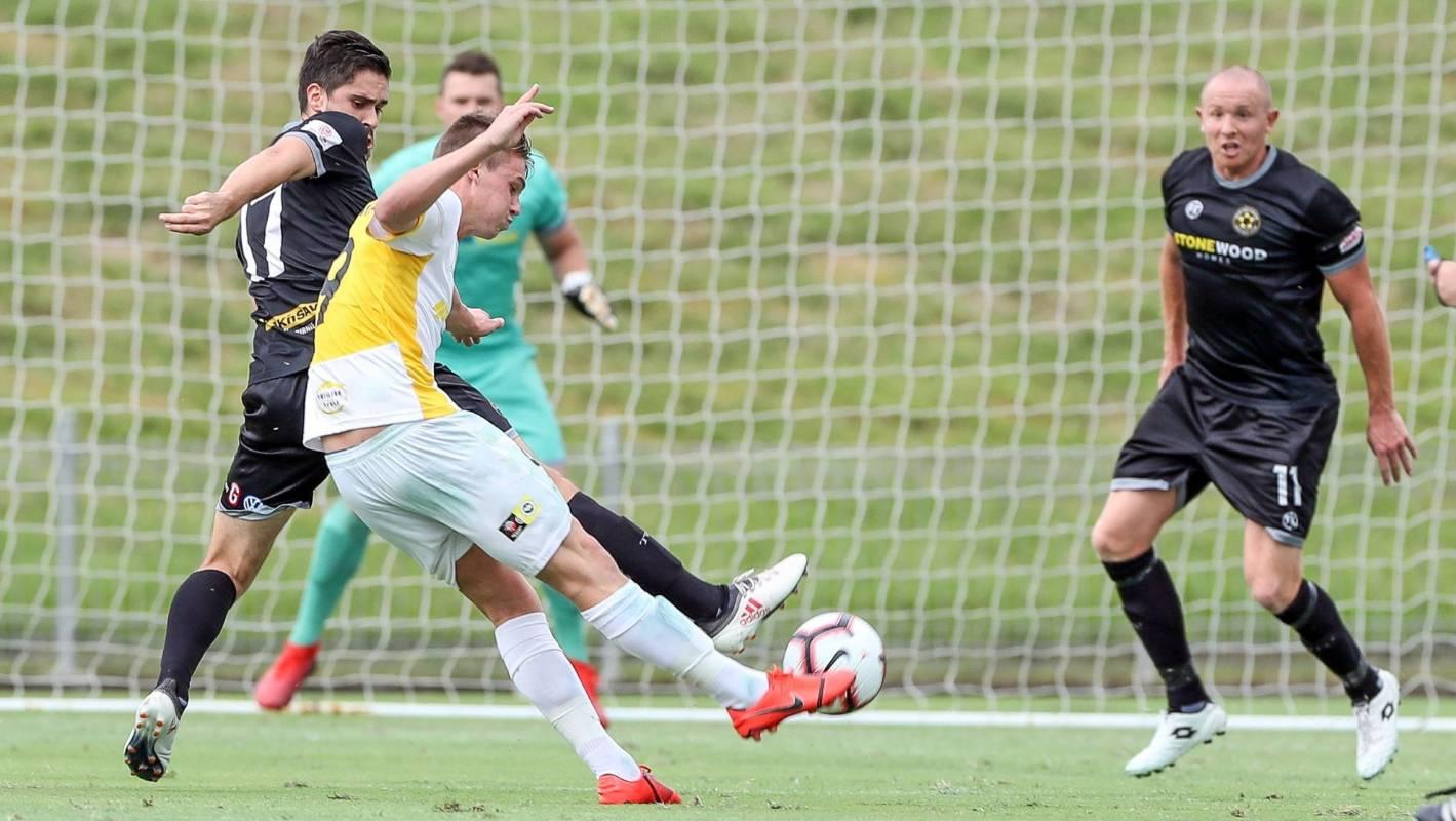 Wellington Phoenix sign promising young forward Callum McCowatt