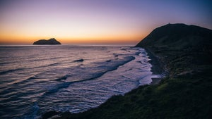 Sunrise on NZ's East Cape