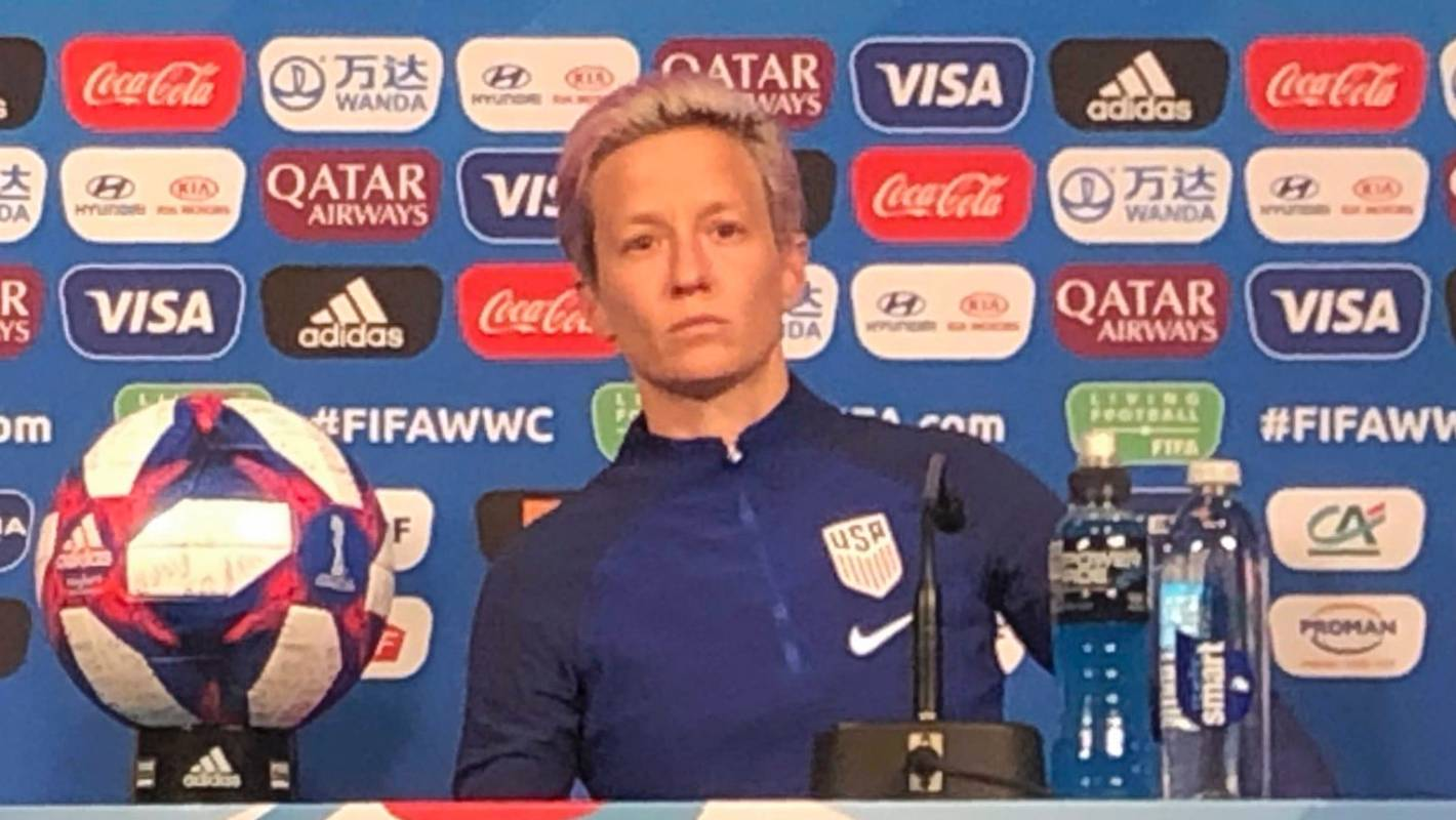 Fifa Women's World Cup 2019: Megan Rapinoe sticks by Donald Trump criticism