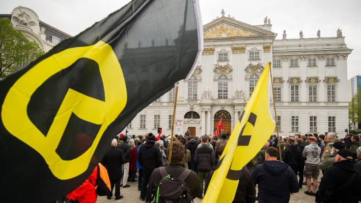 Austrian far-right extremist claims he is suspected of starting