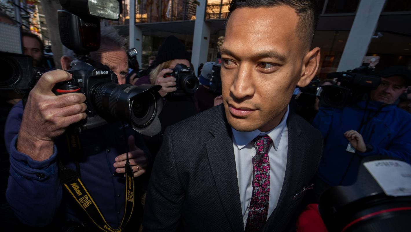 Israel Folau has 'bled Australian rugby of millions', claims former Wallaby Peter FitzSimons