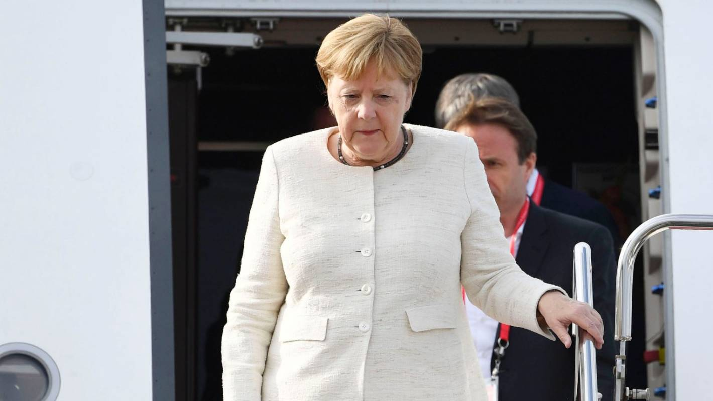 German chancellor under spotlight after shaking spells...