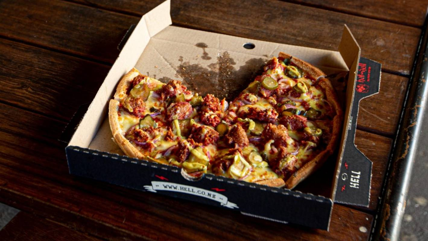 Hell Pizza escapes formal action over Beyond Meat stunt