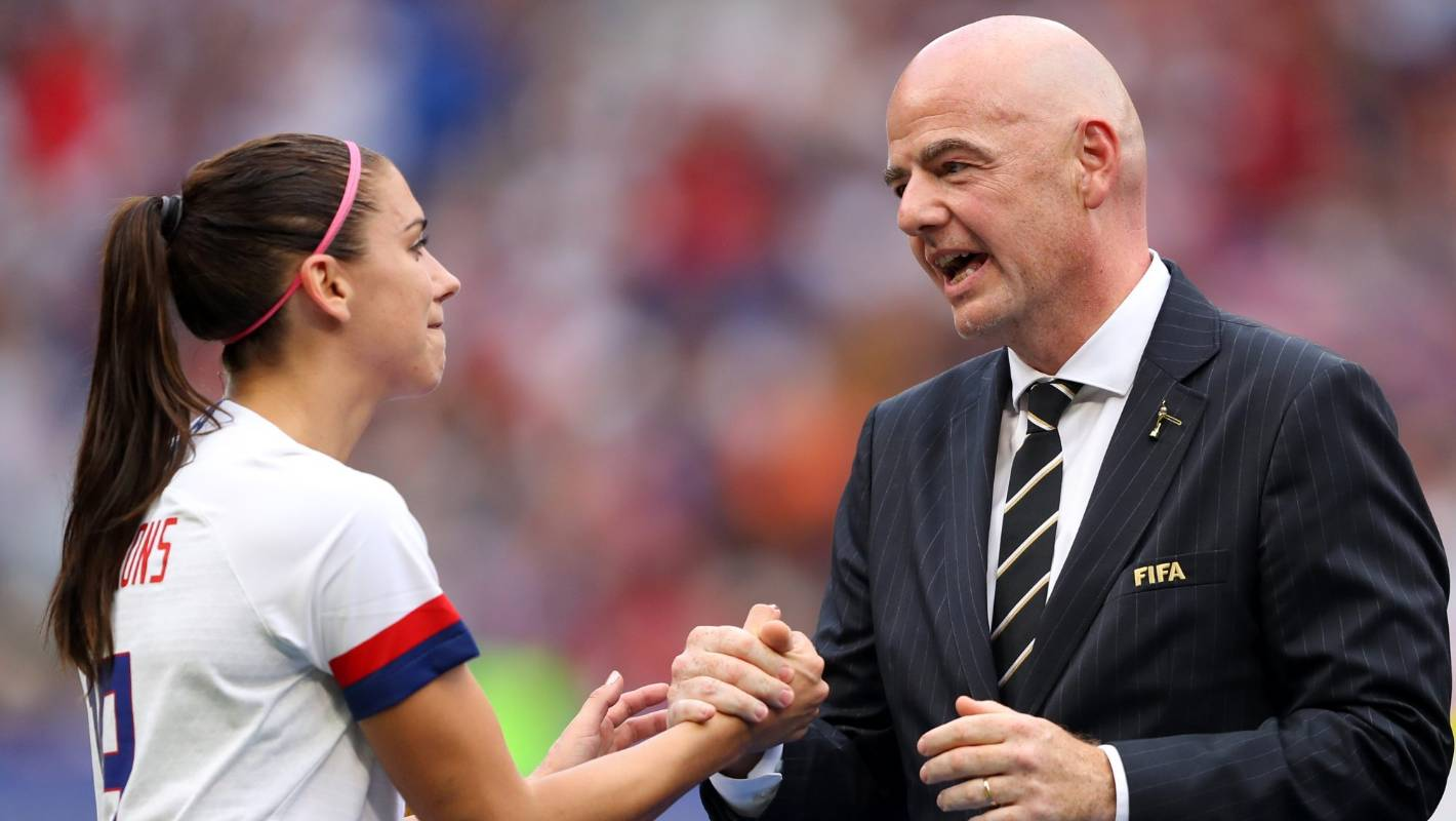 Fifa's Gianni Infantino needs a dose of realism on women's football