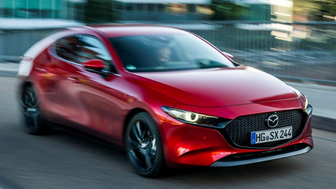 Now the Mazda3 hatch has world-first engine technology