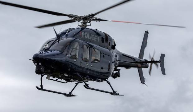Christchurch's new police helicopter targeted with lasers on first day