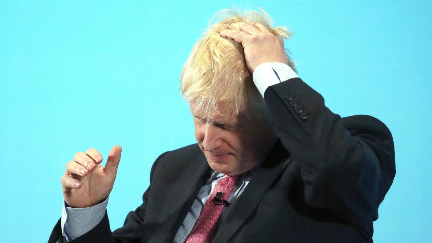 Boris Johnson admits he doesn't know the detail of his Brexit plan B